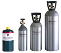 Compare Nitrogen & Argon Cylinder Sizes